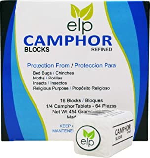 Camphor Blocks Refined 16 Blocks (64 Tablets)