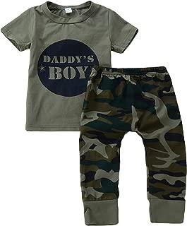 Hosen Camouflage Outfits Xmiral Baby Jungen Langarm Brief Hoodie