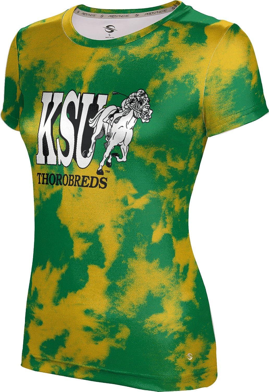 ProSphere Kentucky State University Girls' Performance T-Shirt (Grunge)