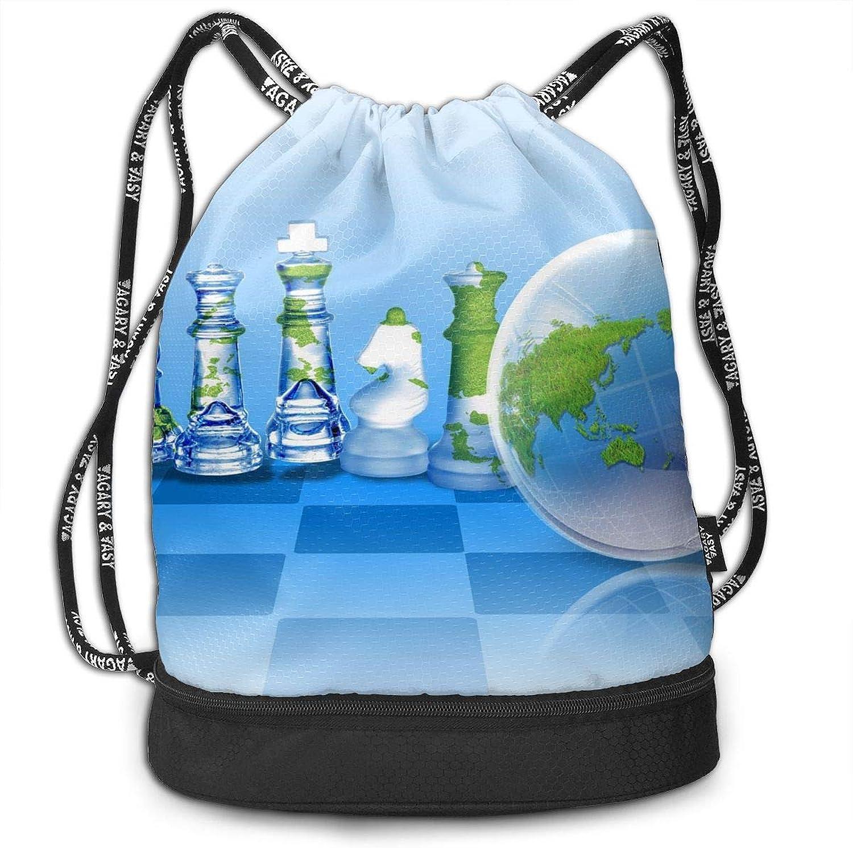Accessories Gymsack Ferris Wheel Print Drawstring Bags Gym Bags Simple Bundle Pocket Backpack