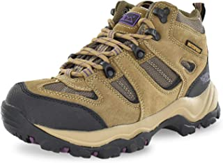 Nord Trail Mt. Washington HI Women's Hiking Shoes, Waterproof Trail Running Shoes, Breathable, Lightweight, High-Traction Grip