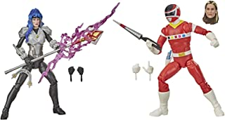 Power Rangers F1170 Lightning Collection In Space Red Ranger Versus Astronema 2-Pack 6-Inch Premium Collectible Action Fig...