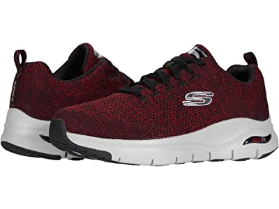 SKECHERS Arch Fit Paradyme (Red/Black) Men
