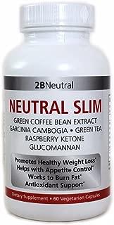 NEUTRAL SLIM WEIGHT LOSS ADVANCED DIET PILLS GARCINIA CAMBOGIA, GREEN COFFEE BEANS