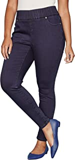 Women's Plus Size Comfort Waistband Skinny Jeans
