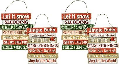 CHRISTMAS WALL SIGNS