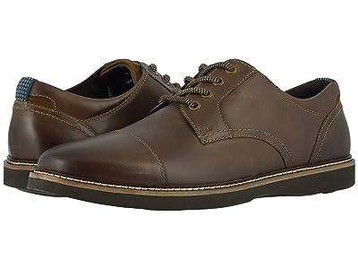Nunn Bush Ridgetop Cap Toe Oxford (Brown CH) Men