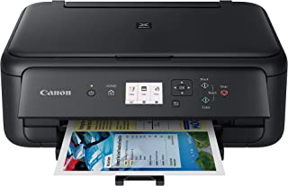 Canon TS5120 Wireless All-In-One Printer with Scanner and Copier: Mobile and Tablet Printing, with Airprint(TM) and Google Cloud Print compatible, Black (Renewed)