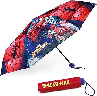 Parapluie Anti Tempete Enfant Spiderman - BONNYCO | Parapluie Pliant pour Sac, Sac à Dos ou Voyage | Parapluie Compact ave...