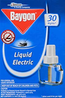 Baygon Liquid Electric Repeller Refill, 21.9ml