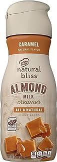 COFFEE MATE NATURAL BLISS Almond Milk Caramel All-Natural Liquid Coffee Creamer, 16 Fl. Oz. Bottle | Non-Dairy Creamer