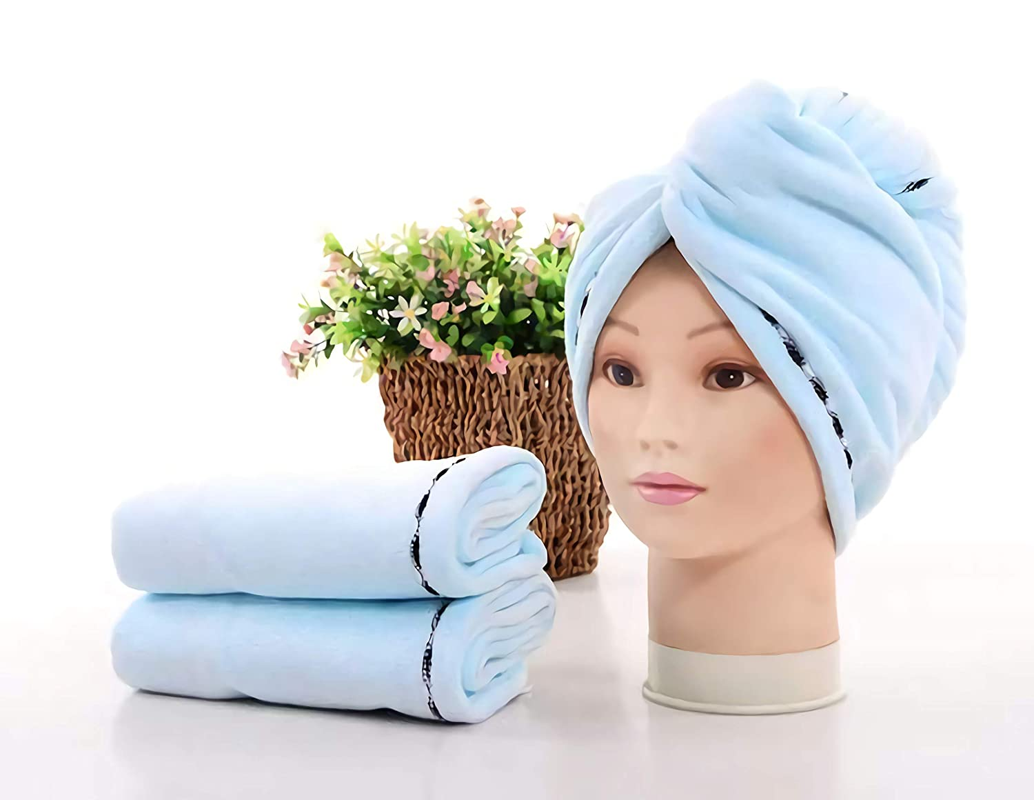 Tshirt towels Challenge the lowest price of Japan ☆ for curly sold out hair turbans wet Thick Long