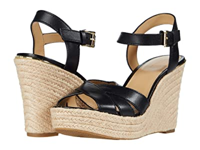 MICHAEL Michael Kors Suzette Wedge (Black) Women
