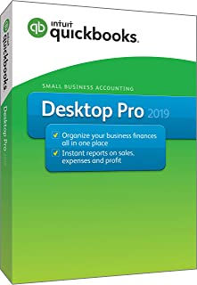 Intuit QuickBooks Desktop Pro 2019 [PC Disc][Old Version]