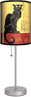 Dcor Art - Chat Noir Sport Silver Lamp