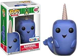 Funko Narwhal (Toys R Us Exclusive): Elf x POP! Movies Vinyl Figure & 1 PET Plastic Graphical Protector Bundle [#487 / 21377 - B]