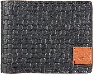 Hidesign Black Men's Wallet (EE -355-017(RF))