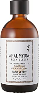 Whal Myung Skin Elixir, All-in-one Face Liquid, Daily Korean Skin Care Routine Clean Beauty, Moisturizer for All Skin Type...
