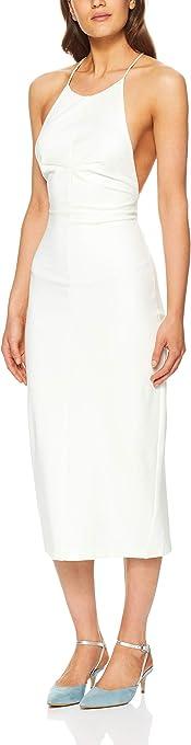 THIRD FORM Women's Lace Up Midi Dress