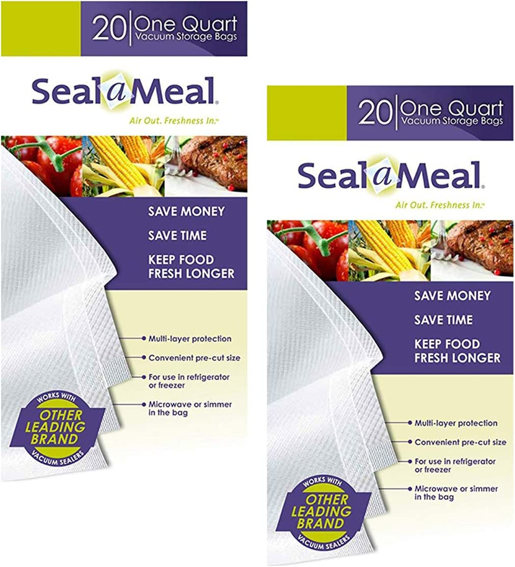 Seal-A-Meal quart New Shipping Ranking TOP7 Free size bags 40-pack