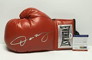 Oscar De La Hoya Signed Red Everlast Boxing Glove AC19621 - PSA/DNA Certified - Autographed Boxing Gloves