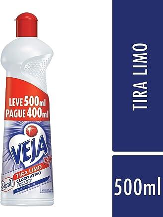 Limpador X14 Banheiro Tira Limo Cloro Ativo 500 ml, Veja