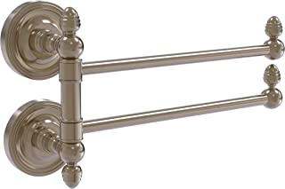 Allied Brass PR-GTB-2 Prestige Regal Collection 2 Swing Arm Towel Rail, Antique Pewter