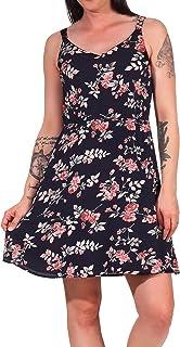 Only womens ONLKARMEN S/L SHORT AOP WVN Dress