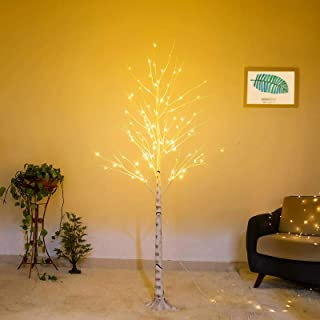 Bolylight Birch Tree 6ft 96L LED Lighted Brich Tree for Christmas Decorations for Home..