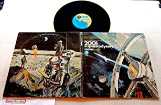 2001: A Space Odyssey (Music From The Motion Picture Soundtrack) - MGM Records 1968 - Used Vinyl LP Record - 1968 Pressing S1E-13 ST - Written: Richard Strauss - György Ligeti - Johann Strauss