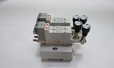 SMC SY3140-5LOZ Solenoid Valve, 5 Port, 2 Position Single, Base MT, 24 VDC, L Plug, W/O Connector