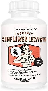 legendairy milk sunflower lecithin