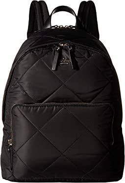 15 in. Quilted Nylon Tech Backpack