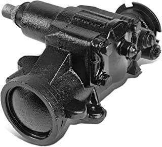 DNA Motoring LEPOW-040 Painted Black Steel Power Steering Gearbox Replacement For 02-06 Avalanche Silverado Sierra