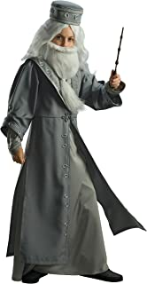 Kids Dumbledore Costume Harry Potter Costumes for Boys Albus Dumbledore Wizard Costume Cosplay Outfit for Kids