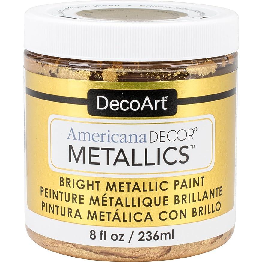 DecoArt Ameri Deco MTLC Americana Decor Metallics 8oz 24K Gold