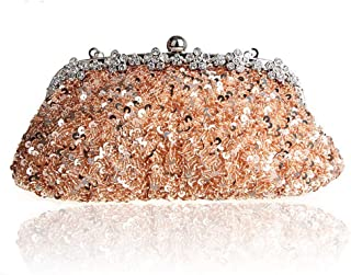 ETH European And American Fashion Exquisite Hand-beaded Evening Bag Chain Bag Bride Bag Clutch Bag 26CM * 3CM * 13CM Hand Bag