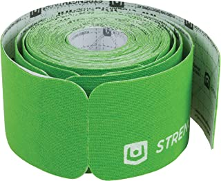 Strength Tape Adhesives pre-cut strips-green color 5 meter