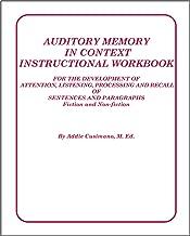 auditory memory sentences