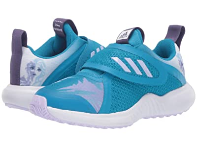 adidas Kids Fortarun X Frozen CF (Little Kid) (Bold Aqua/Purple Tint/White) Girl