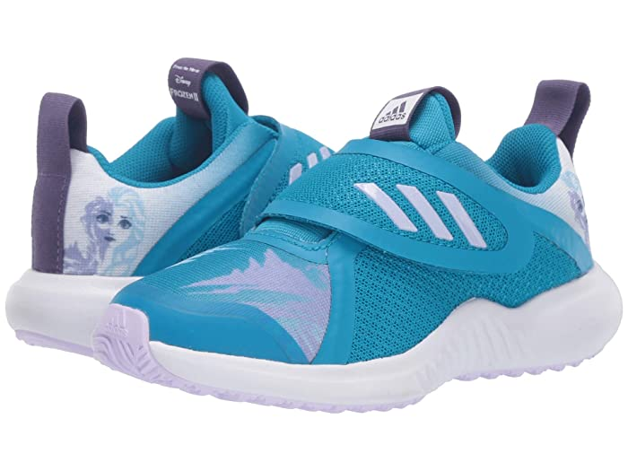 adidas Kids  Fortarun X Frozen CF (Little Kid) (Bold Aqua/Purple Tint/White) Girls Shoes