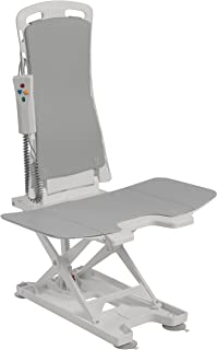 Drive Medical Bellavita Auto Bath Tub Chair Seat Lift, Grey
