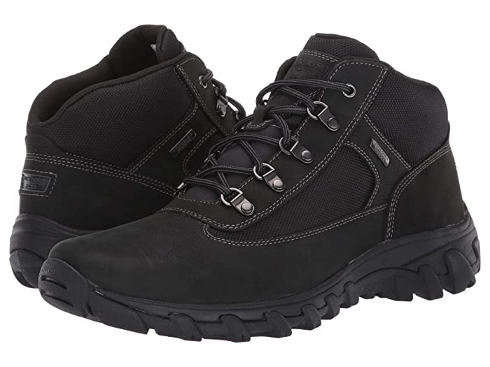 Rockport  Cold Springs Plus Chukka (Black Nubuck) Mens Shoes