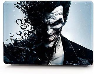 "HRH Joker Arkham Origins Design Laptop Body Shell Protective PC Hard Case for MacBook Pro 13.3""(W/O USB-C) with Retina Dis..."