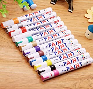 Paint Pens Paint Markers on Almost Anything Never Fade Quick Dry and Permanent, Oil-Based Waterproof Paint Marker Pen Set ...