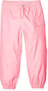 Hatley Boys' Little Girls' Splash Pant, Hot Pink