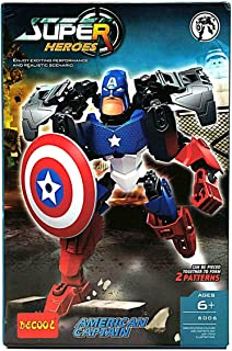DECOOL CAPTAIN AMERICAN- MORE THAN 6 YEARS - 6006