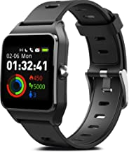 MorePro GPS Smart Watch with 17 Sports Mode Cycling Running Watches IP68 Swimming Waterproof Fitness Tracker, Heart Rate Monitor Smartwatch for Women Men Compatible with iPhone & Android