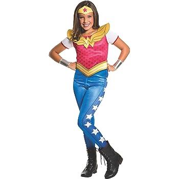 Warner-I- 620743 M-Disfraz para niña, diseño de Super héros-Wonder ...