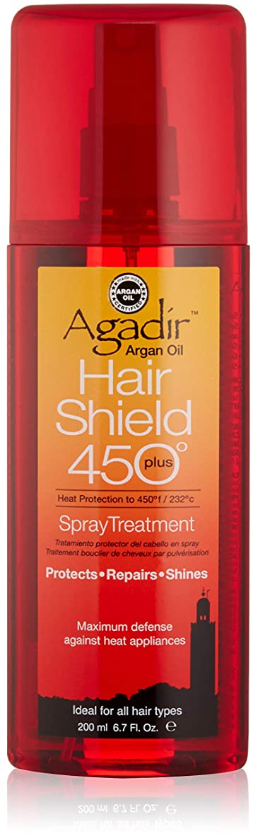 引き金唯一運搬アガディール Hair Shield 450 Plus Spray Treatment (For All Hair Types) 200ml